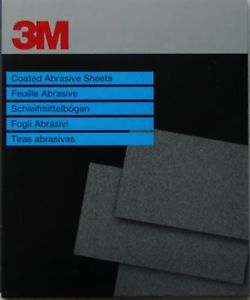 3M WetOrDry Paper Sheets (Pk25) 230x280mm