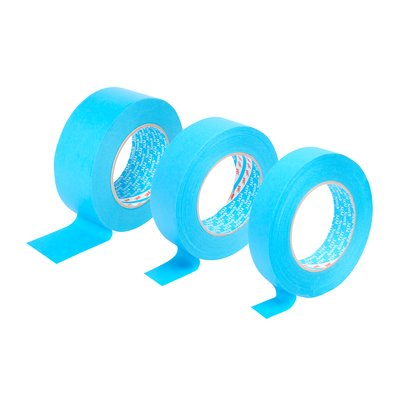 3M Masking Tape 25mm (Box 36 Rolls) Blue 07897
