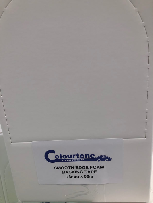 Colourtone Soft Edge Masking Foam 13mm x 50mt Box
