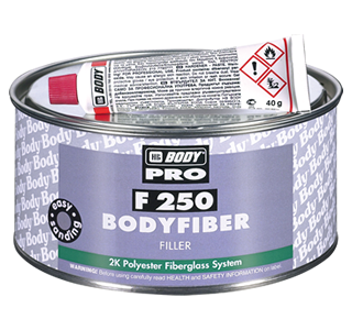HB Body F250 Body Fibre Glass Deep Fill Filler-1.5kg