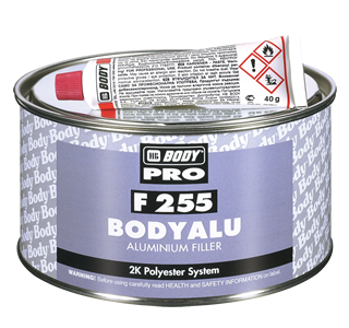 HB Body 255 Body Alu PLus Polyester Metal Filler-150Grm