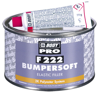 HB Body F222 Bumper Soft-250Grm