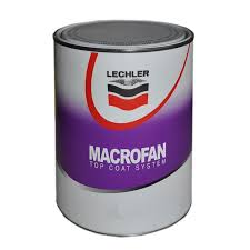 Cellulose Car Paint 1/2 Litre Lechler Macrofan Mac5 1k