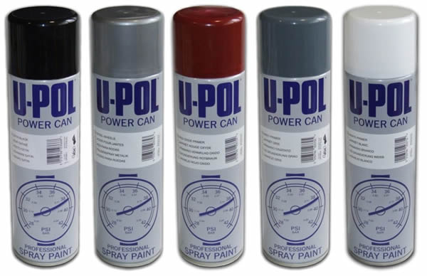 UPOL Power Cans Satin Black
