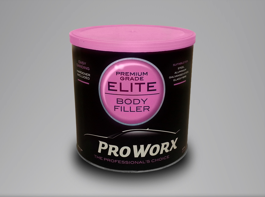 Pro Worx Elite Super Fine Premium Body Filler 1.1L