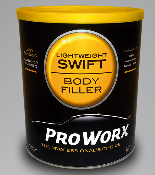 Pro Worx Swift Lightweight Body Filler 3.5L