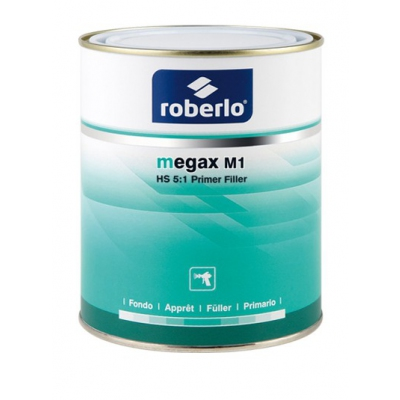 Roberlo Megax Kit M1 Light Grey Primer Kit 4.8L 61086