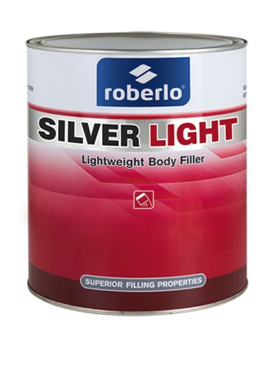 Roberlo 64927 Silver Light Filler 3L
