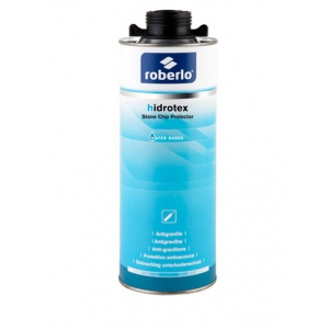 Roberlo 61132 Hidrotex Water Based Stone-Chip Grey 1L