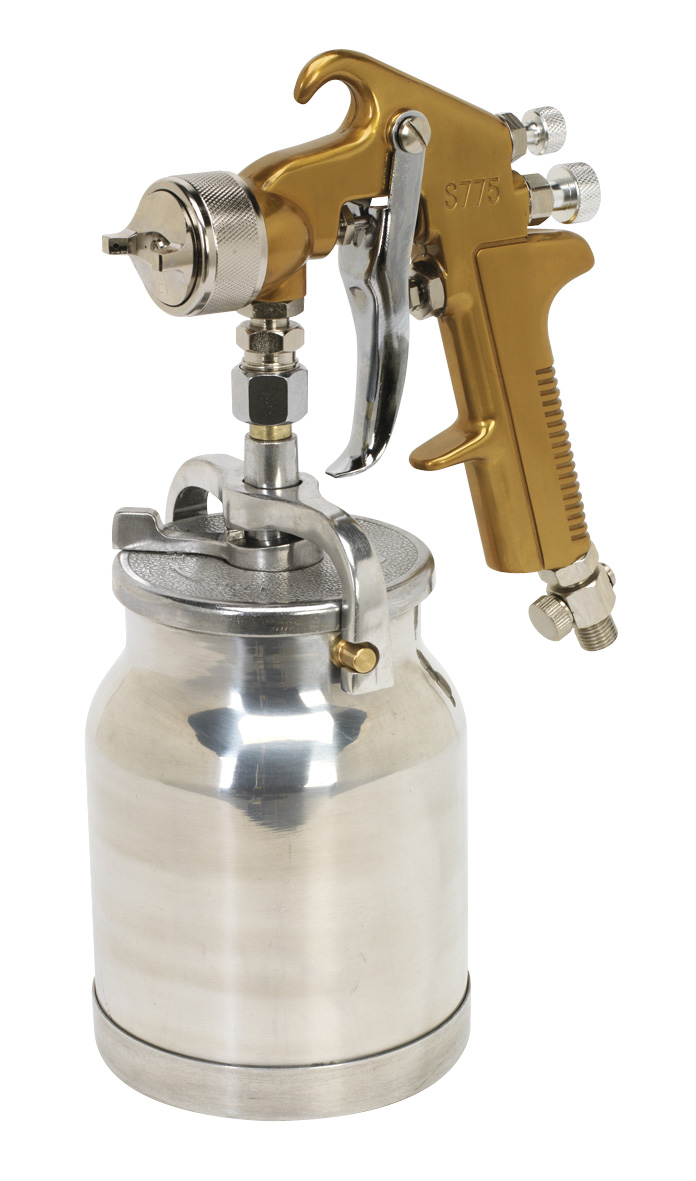Siegan Spray Gun Suction Feed Brand 1.7mm Set-Up S775