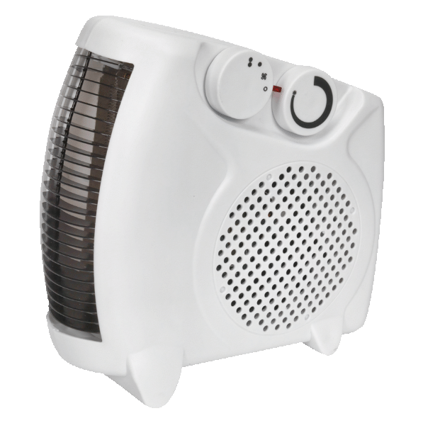 Sealey Fan Heater 2000W/230V 2 Heat Settings & Thermostat FH2010