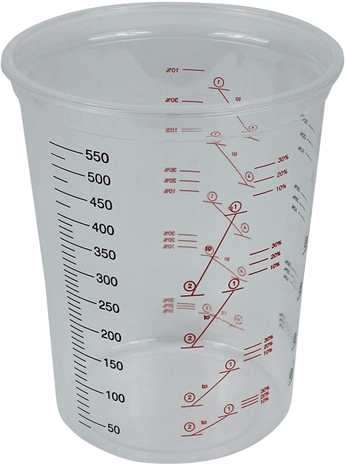 Starchem Polypropylene Mixing Cups 600ML (PK 50)