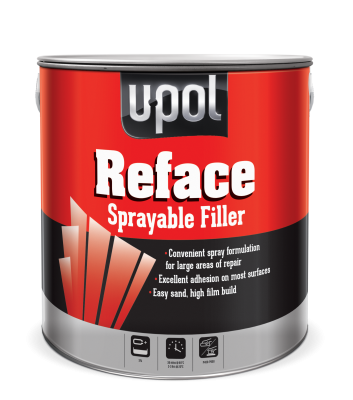 Upol REFACE Polyester Spray Filler + Catalyst 1L