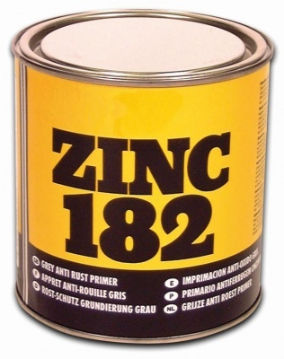 U-Pol Zinc 182 Anti Rust Primer Grey-1L
