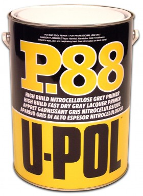 Upol Cellulose Grey Primer Filler 1L P88