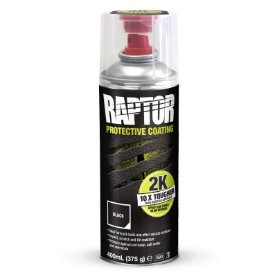 UPOL Raptor Black 2k Aerosol 400ML
