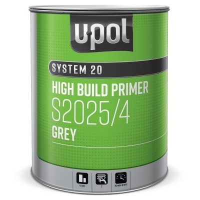 U-POL 2025 2k Primer Kit(4LS2025+1L S2030 Hard)5L Kit