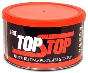 UPol Top Stop Red Polyester 2Part Stopper 750ml