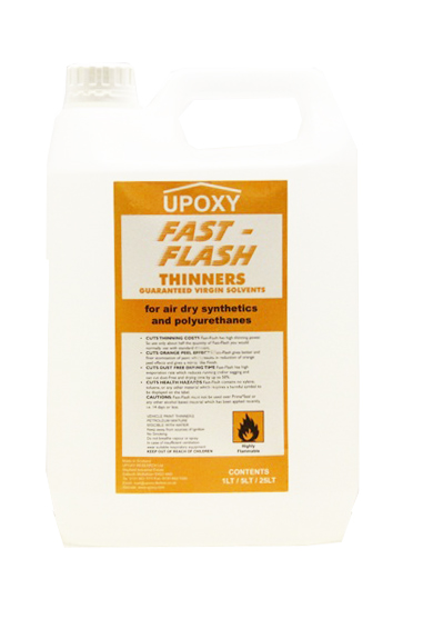 Upoxy Fast Flash Synthectic Paint Thinner-5L