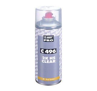 HB Body 496 Premium 2k HS Clearcoat Aerosol 400ml