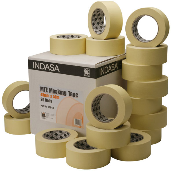 Indasa Masking Tape 36mm Box 24 MTE-36