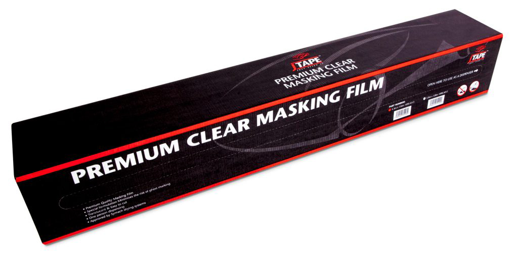 J Tape Premium Clear Masking Film 4mt x150mt 1090.4015