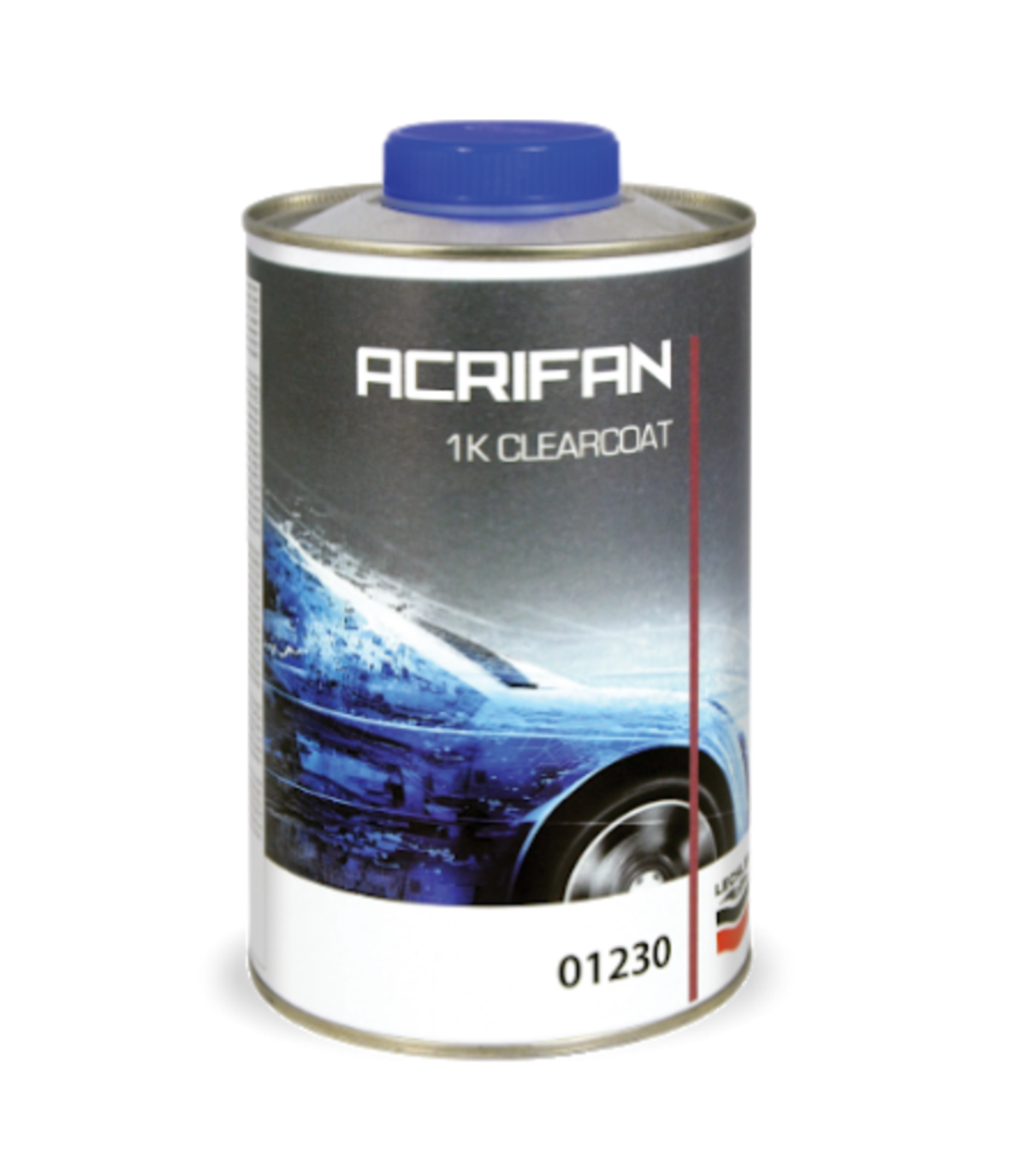 Lechler 01230 1k Ready For Use Single Pack Clearcoat 1Litre