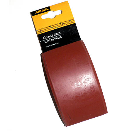 Mirka Rubber Hand Sanding Block 70 X 125mm 839010111