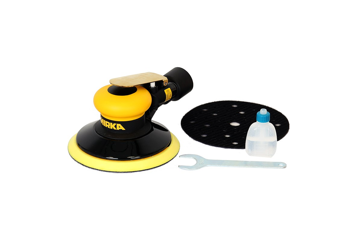 Mirka ROS650CV Air Palm Da Sander 150mm 5.mm Orbit 8993000111
