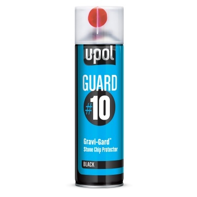 Upol 500ML Aerosol Black Guard#10 Stone Chip